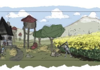 Explore an unusual medieval world and fight against outlaws in Feudal Alloy
